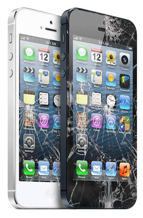 החלפת מסך LCD+מגע Apple iPhone 5 אפל
